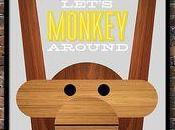 decoración también Mono