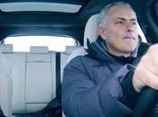 Jose Mourinho pilota nuevo Jaguar F-Pace