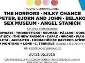 Territorios Sevilla 2016: Horrors, Milky Chance, Peter Bjorn John, Belako, Museum, Ángel Stanich...