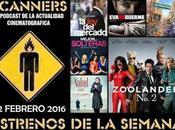 Estrenos Semana Febrero 2016 Podcast Scanners