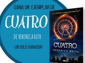 Concurso Aniversario ¡Gana ejemplar Cuatro Veronica Roth! Ganador]