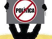 anti política como propuesta