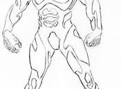 conceptos artísticos hubiera sido película Superman Burton