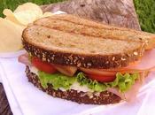 Sándwich Pavo Queso Cremoso