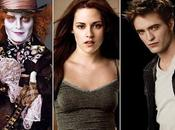 Johnny Depp, Kristen Stewart Robert Pattinson, estrellas 2010