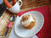 Mini carrot cake microondas