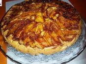 Bizcocho manzanas caramelizadas