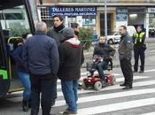 Langui bloquea linea Madrid-San Martín Vega