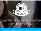 Videoconferencias grupo Windows Mobile, Android