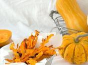 Chips calabaza aceitunas negras, reinventa aperitivos saludables #dobleS