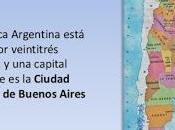 República Argentina. División Política