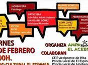 Mesa redonda acoso escolar Segovia Bajo paraguas azul