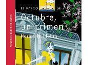Reseña: OCTUBRE, CRIMEN (NORMA HUIDOBRO)