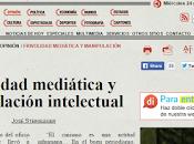 Frivolidad mediática manipulación intelectual