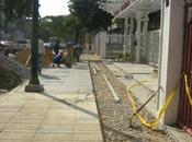 recreo construye nuevas aceras frente parque arístides rojas maripérez