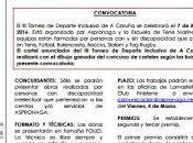 Concurso cartel para Torneo Deporte Inclusivo Coruña