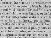 """Receta """"Rosquillas Fuenlabrada"""" 1885"""