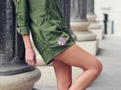 Tendencia mono militar parches