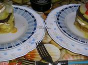 Milhojas patata, morcilla queso