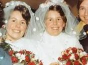 Gemelas casan mismo entierran juntas maridos
