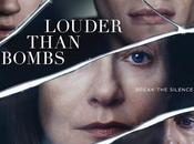 Nuevo cartel oficial amor fuerte bombas (louder than bombs)