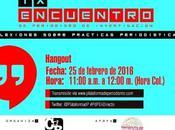 Hangout Encuentro Periodismo Investigación
