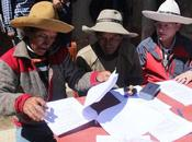 Comunidad Urazana empresa Hudbay Perú firman convenio cooperación tierra brava