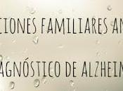 Reacciones familiares ante diagnóstico #alzheimer