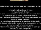 estrategias para simplificar problemas vida