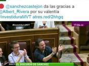 Riverización Sánchez aplausos ironía