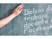 Bolsas trabajo docente: Fijate Facebook