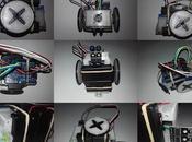 Robot Miniskybot funcionando como siguelíneas