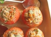 Tomates rellenos atún verduras