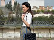 Outfit Striped culottes