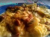 Patatas crema queso nabiza gallego