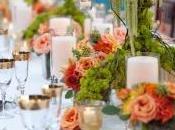 Ideas innovadoras decoración mesas para bodas
