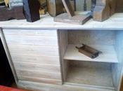 Mueble tablero abeto
