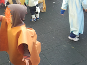 Reciclaje disfraces camello troglodita