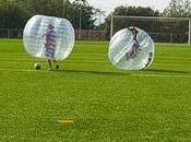Actividades deportivas curiosas: futbol burbuja