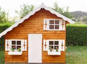 Casita madera infantil TOM, este resultado instalación nuestro cliente Joan Gurb (BARCELONA)