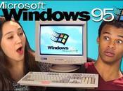 reacción unos adolescentes probando windows experimento social