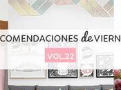 Recomendaciones viernes Vol.XXII