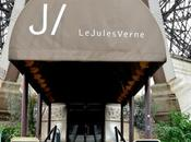 Restaurant Jules Verne, dominando todo París