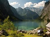 días Austria. Lago Konigssee Obersee Alemania