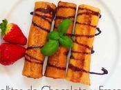 Diy-receta: rollitos chocolate fresas