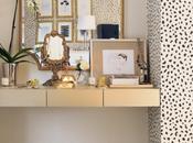 dormitorio glam idea low-cost para vestidor
