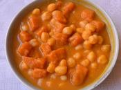 Garbanzos calabaza curry