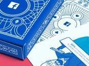 Estadísticas Facebook convertidas baraja cartas