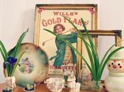 Desafío color mint antigüedades; objetos personalidad
