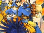 Ilustraciones originales 'Nausicaä' para revista Animage portadas manga